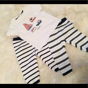 3pc Janie and Jack 3/6 Month Set